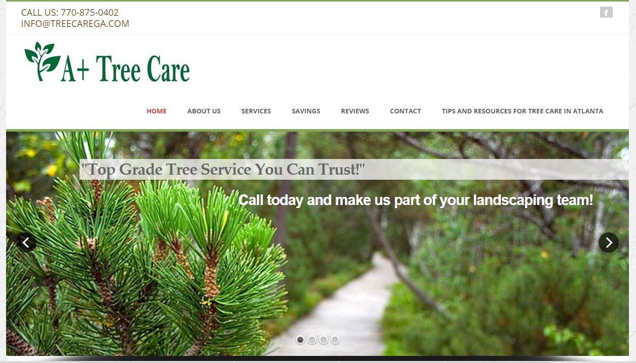 Web Design for Tree Service Company