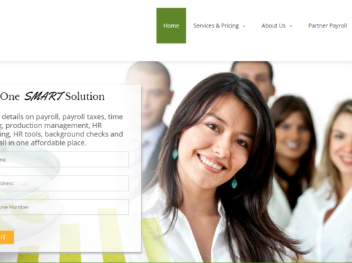 Web Design and Marketing Suite for Payroll Company