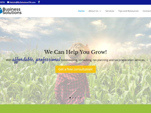 Web Design for Local Business in Cookeville
